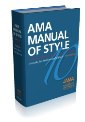 AMA Manual of Style Cover