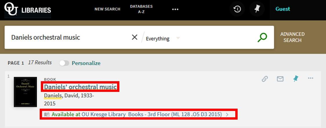 Screenshot 2 - Search Results